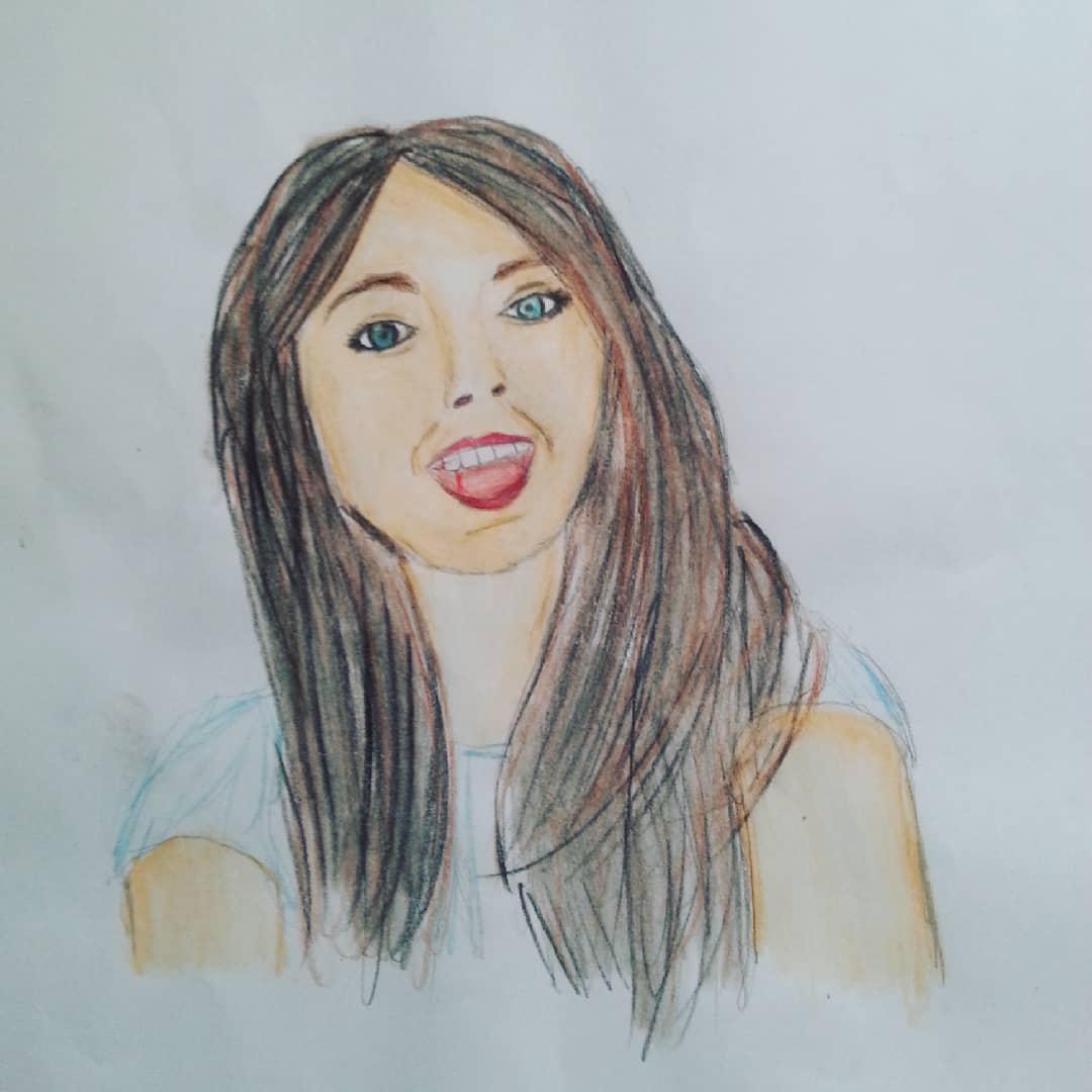Ариана Гранде картинки для срисовки (1)