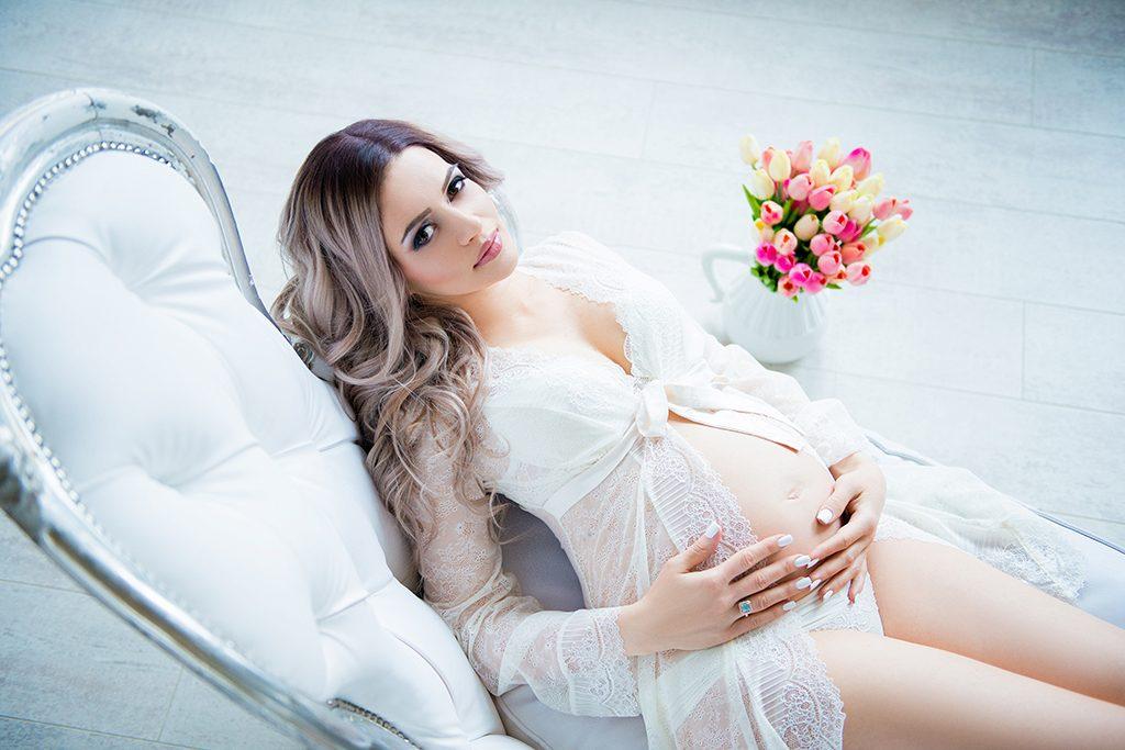 Будуарная фотосессия беременной женщины   лучшие фото (2)