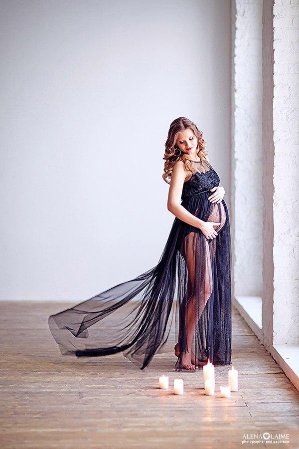 Будуарная фотосессия беременной женщины   лучшие фото (3)