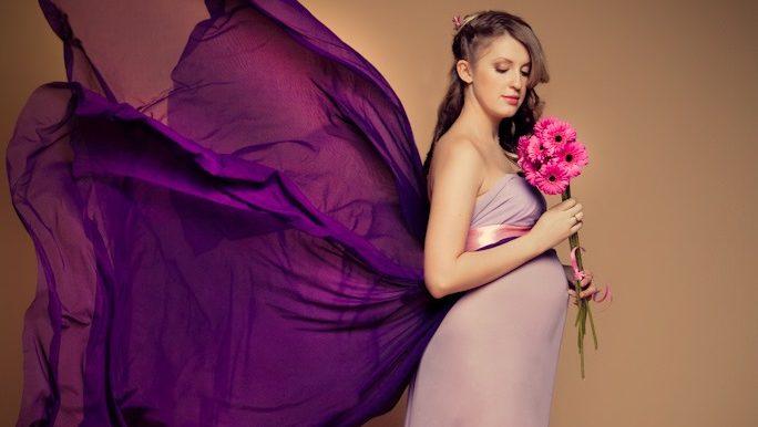 Будуарная фотосессия беременной женщины   лучшие фото (6)