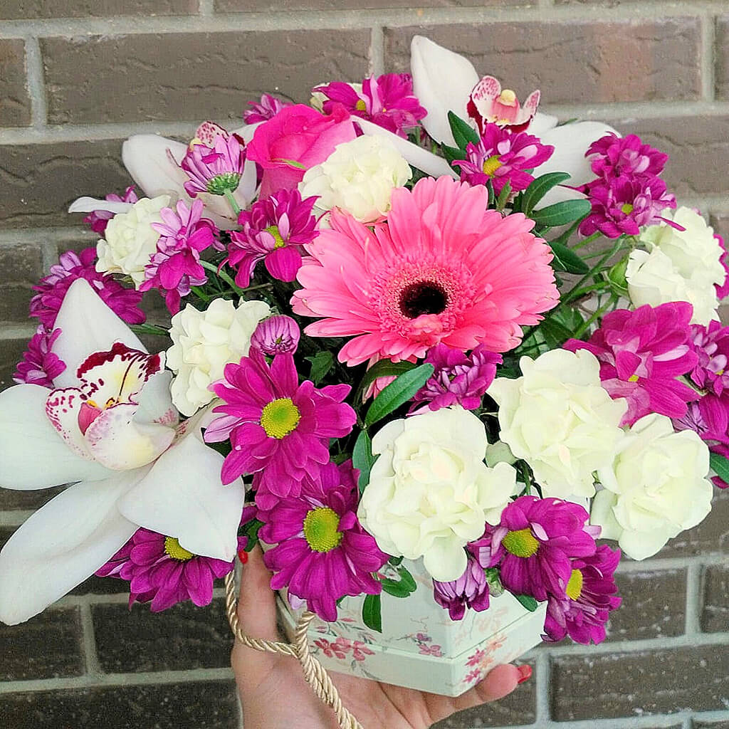 Букеты из цветов на 1 сентября - фото идеи (11)