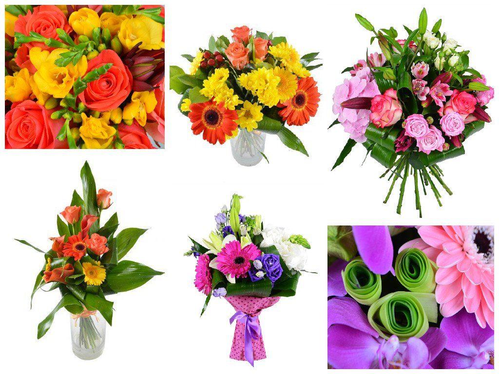 Букеты из цветов на 1 сентября - фото идеи (12)