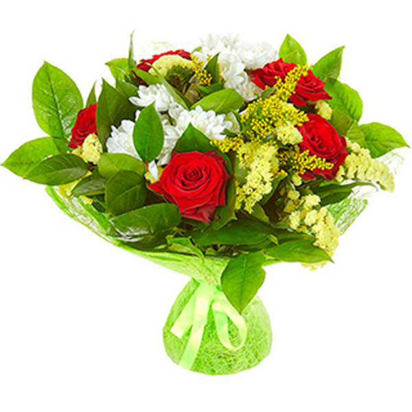 Букеты из цветов на 1 сентября - фото идеи (22)