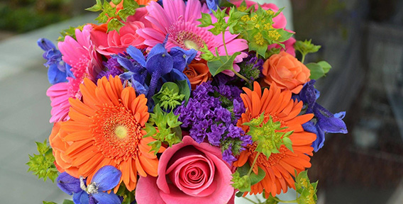 Букеты из цветов на 1 сентября - фото идеи (24)