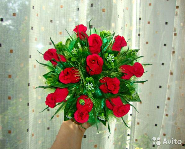 Букет из роз на первое сентября - фото и картинки (10)