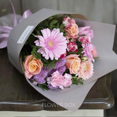 Букет из роз на первое сентября - фото и картинки (17)