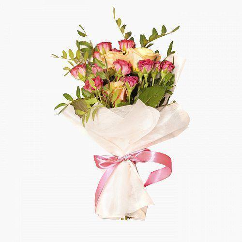 Букет из роз на первое сентября - фото и картинки (20)