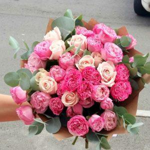 Букет из роз на первое сентября - фото и картинки (22)