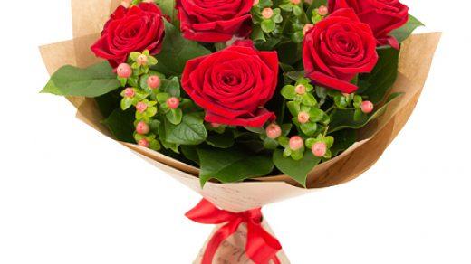 Букет из роз на первое сентября   фото и картинки (29)