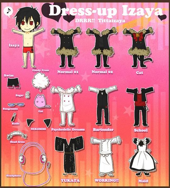 Бумажные аниме куклы   подборка картинок (22)
