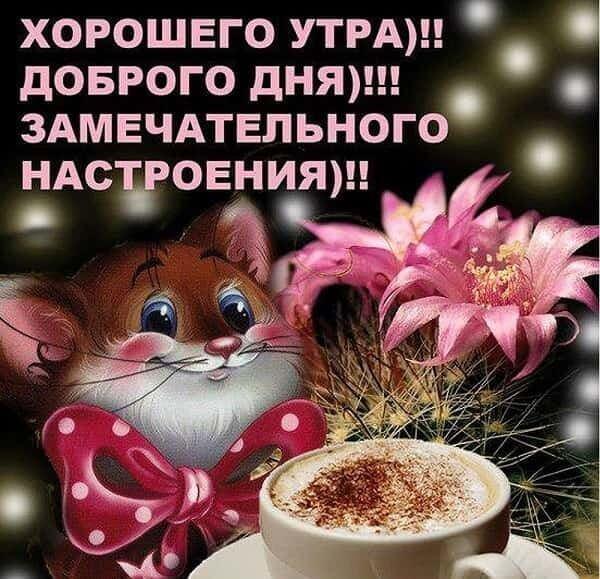 Доброе утро картинки красивые с надписью для друзей (3)