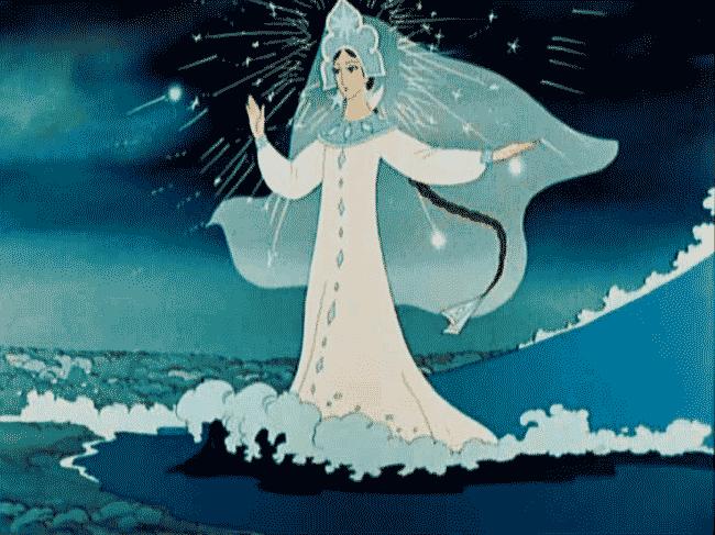 Как нарисовать Царицу Лебедь из сказки о Царе Салтане (11)