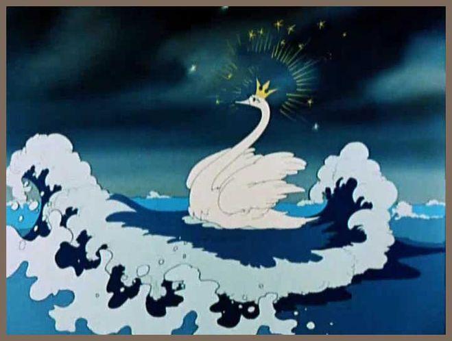 Как нарисовать Царицу Лебедь из сказки о Царе Салтане (16)