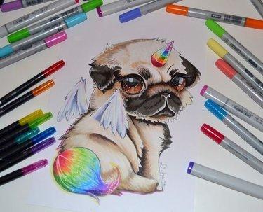 Картинки для срисовки маркерами - лучшая сборка (11)