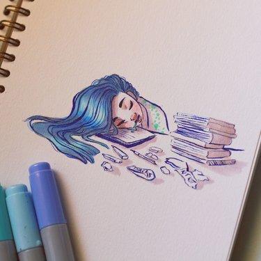 Картинки для срисовки маркерами - лучшая сборка (15)