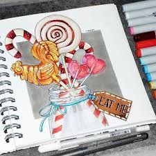 Картинки для срисовки маркерами - лучшая сборка (17)