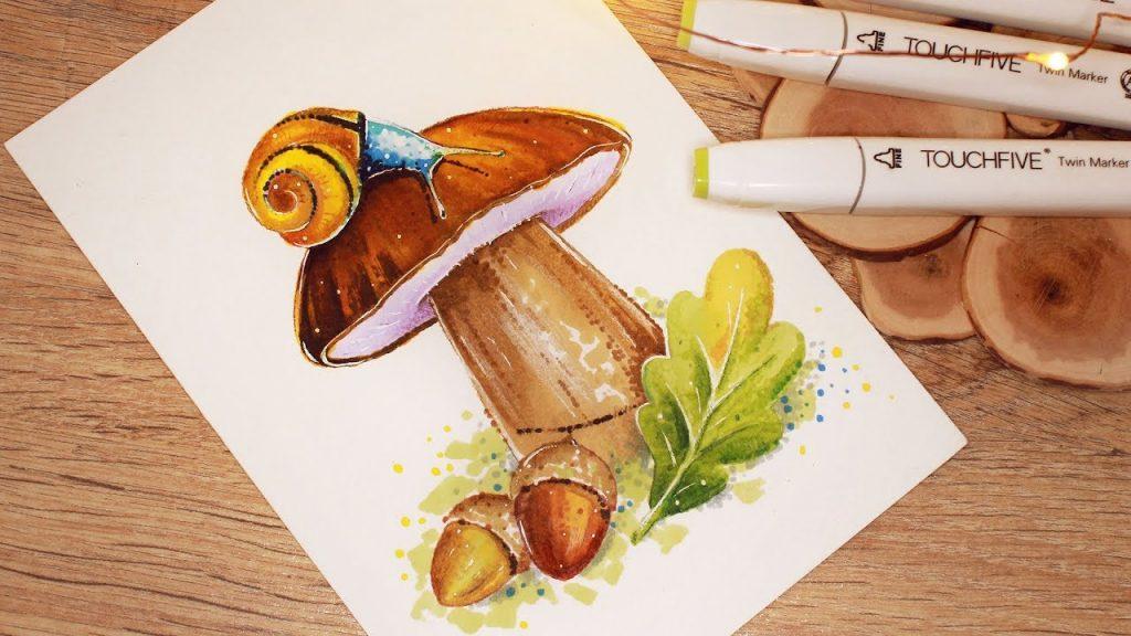 Картинки для срисовки маркерами - лучшая сборка (25)