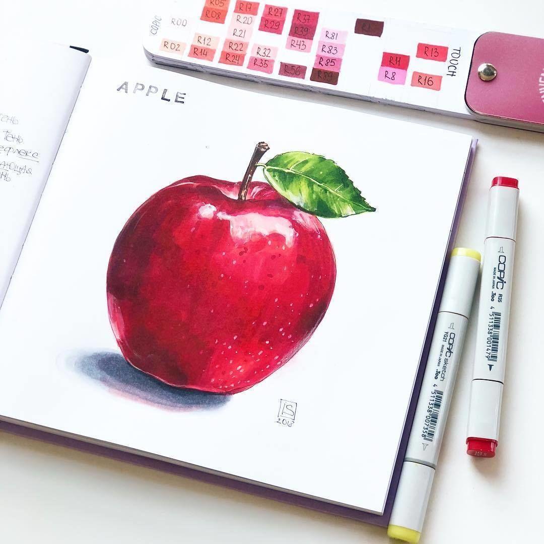 Картинки для срисовки маркерами   лучшая сборка (30)