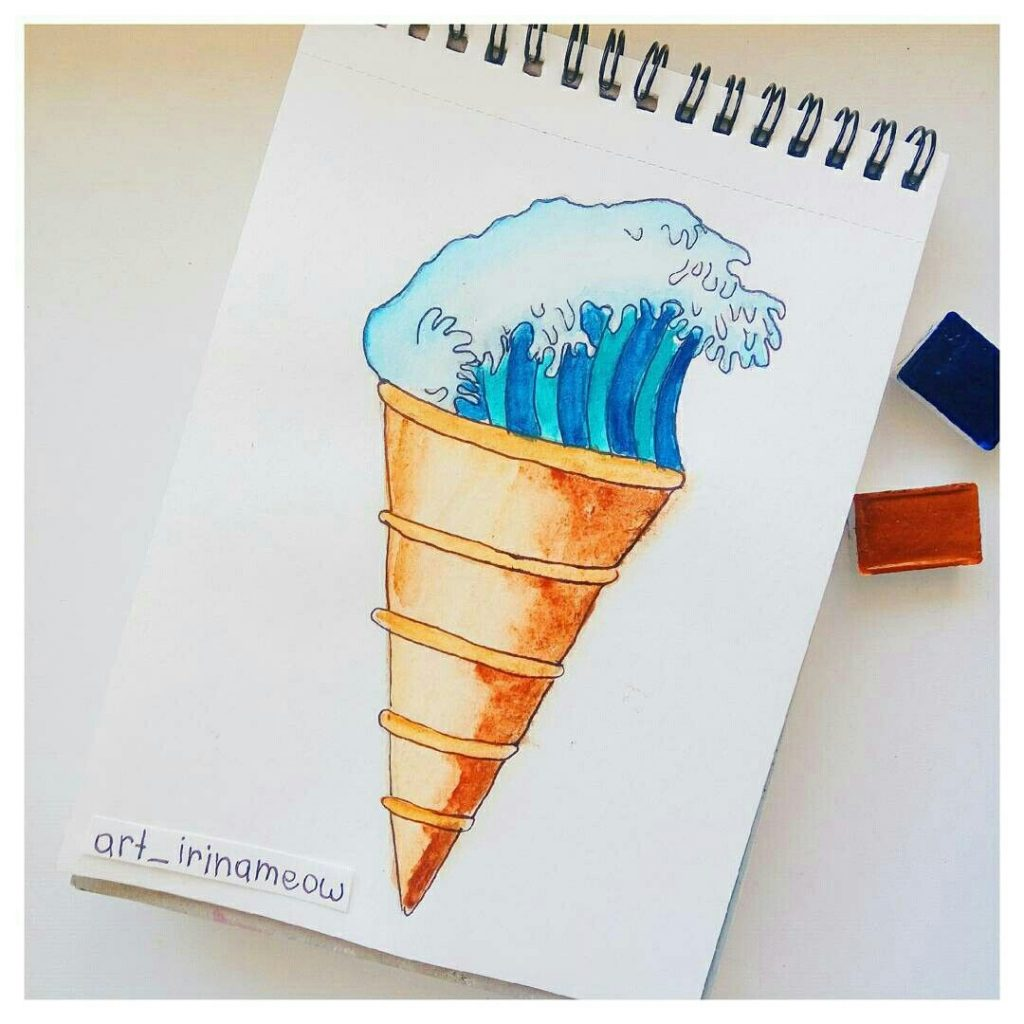 Картинки для срисовки маркерами - лучшая сборка (31)