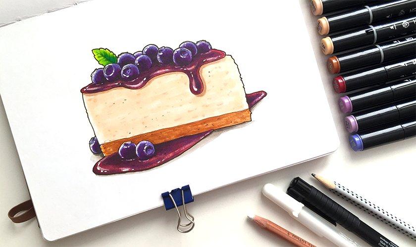 Картинки для срисовки маркерами - лучшая сборка (36)