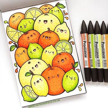 Картинки для срисовки маркерами - лучшая сборка (4)