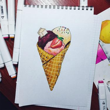 Картинки для срисовки маркерами - лучшая сборка (9)