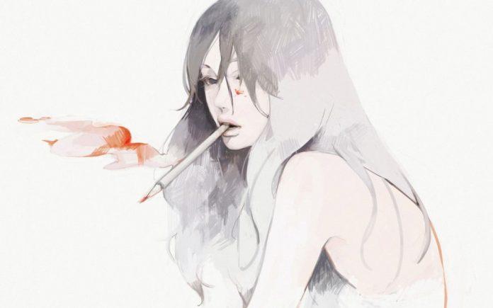 Картинки карандашом для срисовки девушки со спины легкие (11)