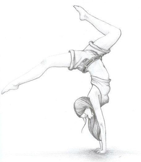 Картинки карандашом для срисовки девушки со спины легкие (13)
