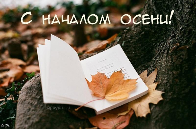 Картинки начало осени сентябрь - подборка (19)