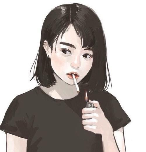 Картинки на аву в ВК для девушек крутые и нарисованные (16)