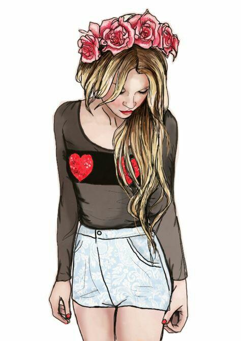 Картинки на аву в ВК для девушек крутые и нарисованные (4)