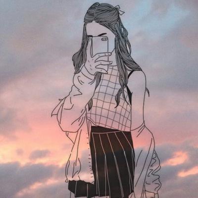 Картинки на аву в ВК для девушек крутые и нарисованные (7)