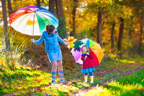 Картинки осень сентябрь, октябрь и ноябрь для детей (2)