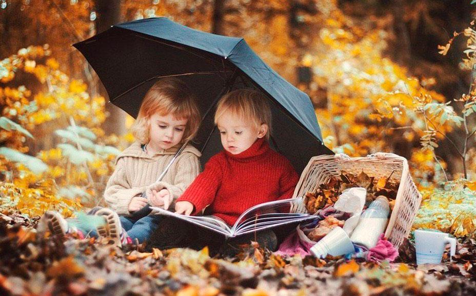 Картинки осень сентябрь, октябрь и ноябрь для детей (25)