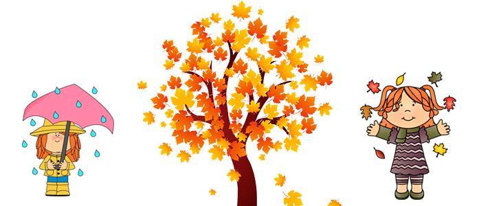Картинки осень сентябрь, октябрь и ноябрь для детей (27)