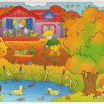 Картинки осень сентябрь, октябрь и ноябрь для детей