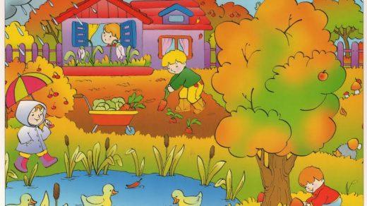 Картинки осень сентябрь, октябрь и ноябрь для детей (29)