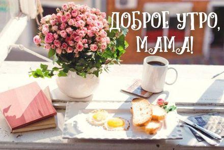 Картинки с добрым утром и хорошего дня маме (14)