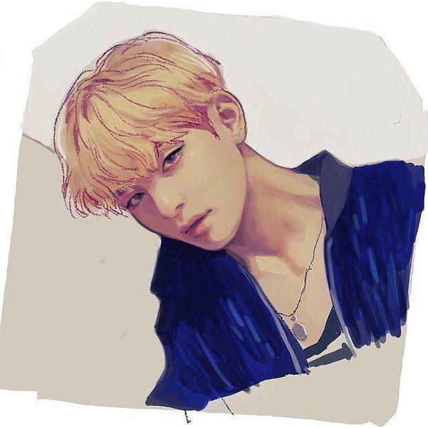 Корейские рисунки для срисовки (3)