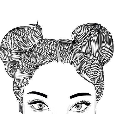 Красивые картинки для срисовки девушки арт (18)