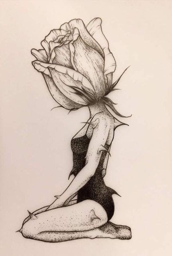 Красивые картинки для срисовки девушки арт (19)