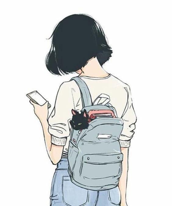 Красивые картинки для срисовки девушки арт (23)