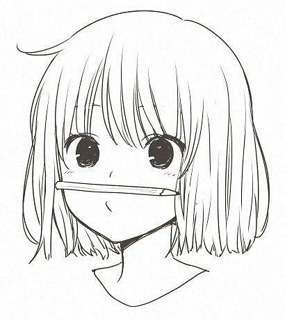 Красивые картинки для срисовки девушки арт (24)