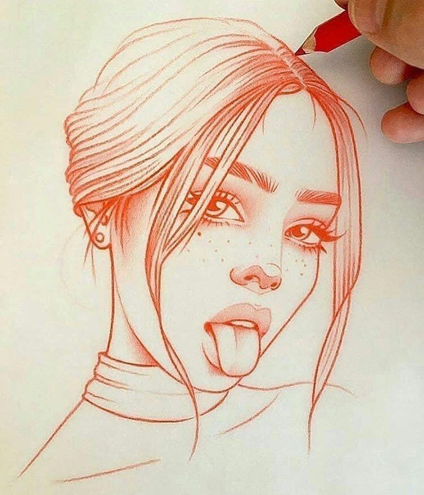 Красивые картинки для срисовки девушки арт (7)