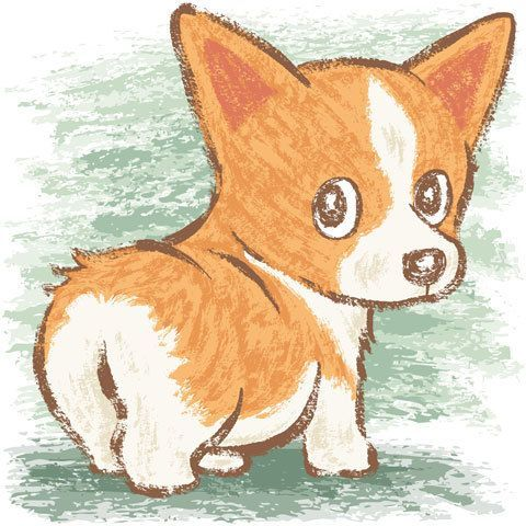 Красивые картинки про собак карандашом (5)