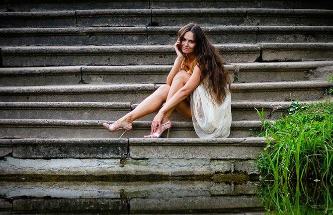 Красивые фотосессии на улице - подборка фото (18)