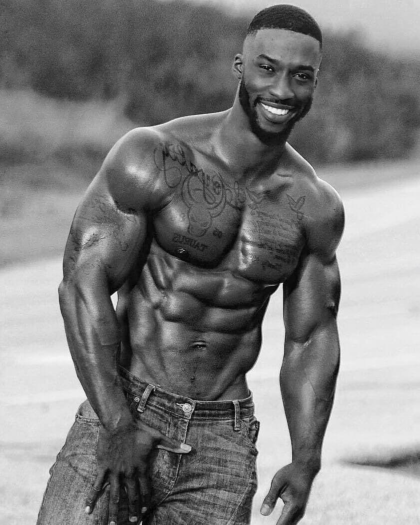 Красивые чернокожие парни   подборка фото (17)