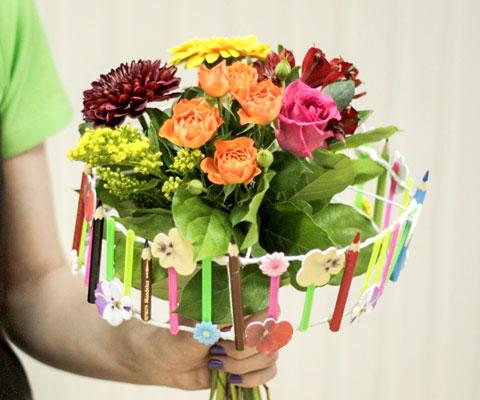 Красивый букет на 1 сентября фото для девочек (17)