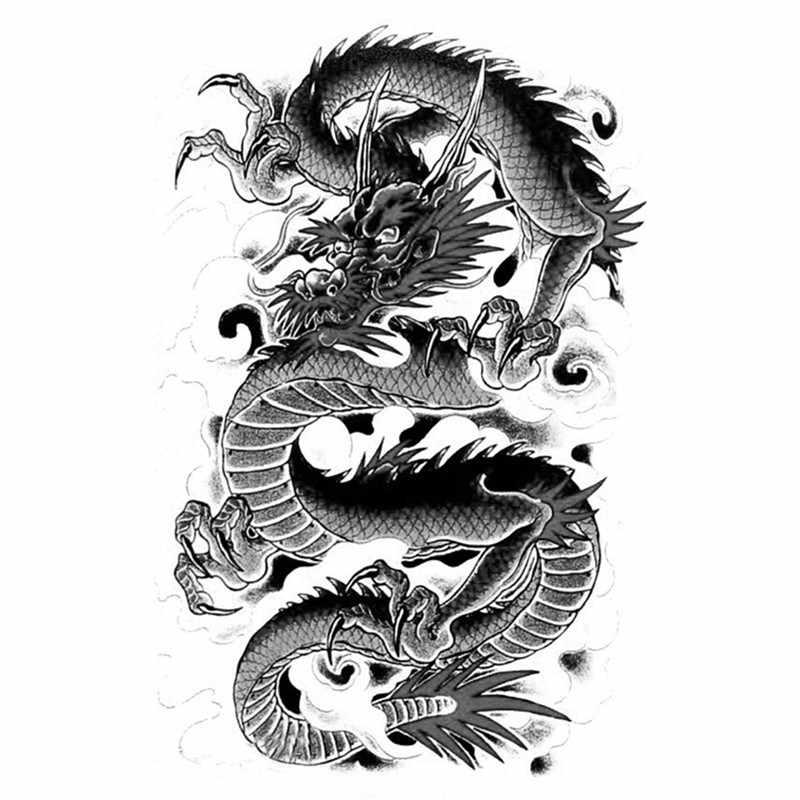 Крутые картинки тату китайский дракон (11)