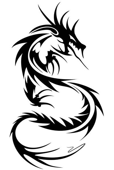 Крутые картинки тату китайский дракон (16)